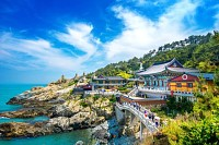 Haedong Yonggung Temple in Busan, South Korea
