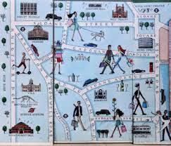 Desenhos de London Landmarks Jigsaw Puzzle para colorir