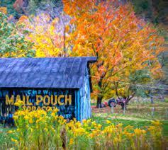 Desenhos de Mail Pouch Tobacco Barn Jigsaw Puzzle para colorir