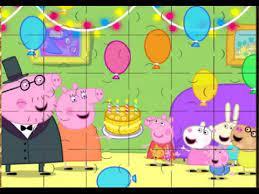 Desenhos de Peppa Pig Jigsaw Puzzle para colorir