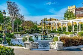 Philharmonia Garden Baku, Azerbaijan
