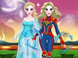 Princess Super Woman Puzzle