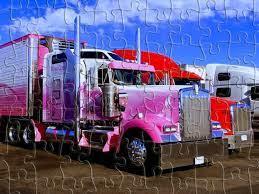 Semi-Trailer Trucks Puzzle Jigsaw