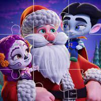 Desenhos de Super Monsters Christmas Jigsaw para colorir
