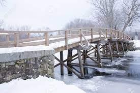 Cold Old North Bridge