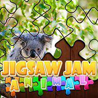 Desenhos de Jigsaw Jam Animal para colorir