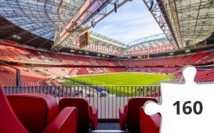 Desenhos de Euro 2020: Johan Cruyff Arena Holland para colorir