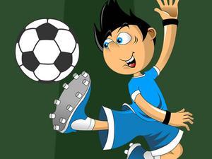 Desenhos de Soccer Star Jigsaw para colorir