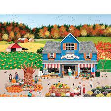 Desenhos de The Old Country Store Jigsaw Puzzle para colorir
